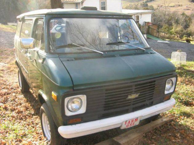 1980 chevy van g10