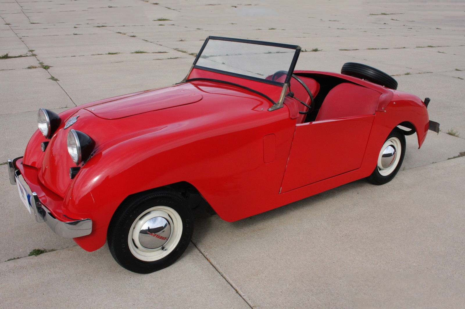 1St Us Sports Car 1951 Crosley Hot Shot-1362