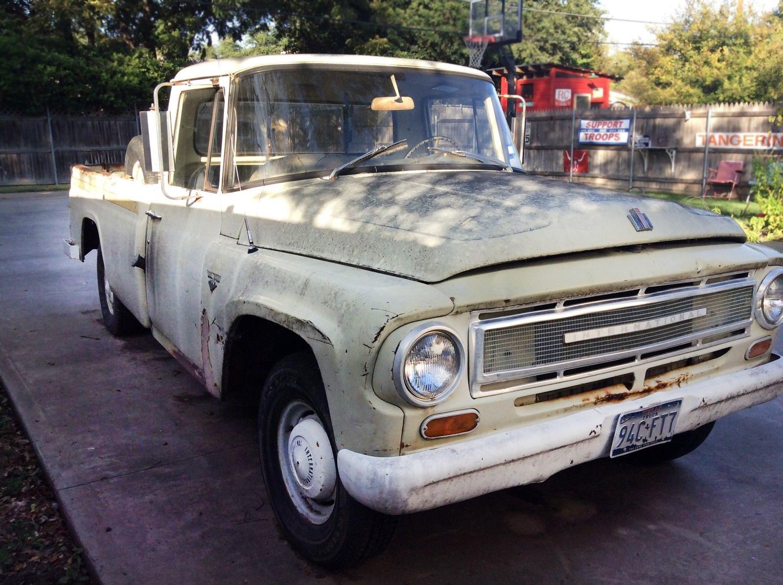 1967 international pickup truck