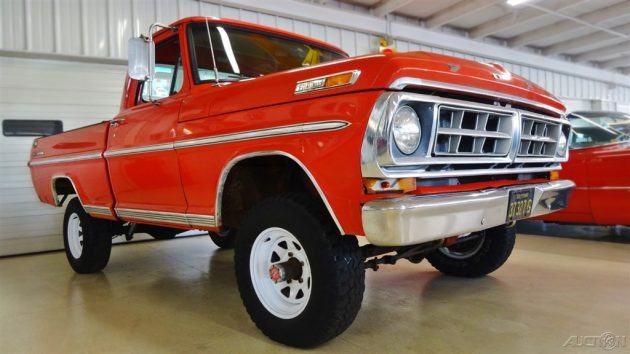 Auctions In Ohio >> Sport Custom Short Bed: 1971 Ford F-100 4X4