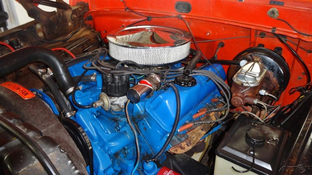 Sport Custom Short Bed 1971 Ford F 100 4x4