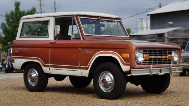 Rust-Free & 27,917 Miles! 1974 Ford Bronco