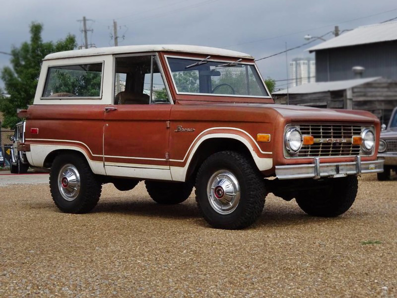 Ford Suv For Sale >> Rust-Free & 27,917 Miles! 1974 Ford Bronco