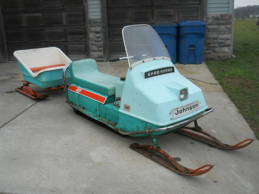 OMC Classic: 1970 Johnson Skee-Horse & Cutter