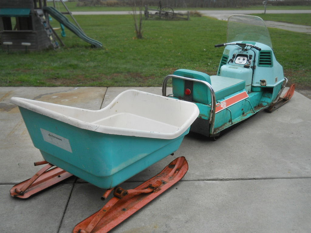 That Vintage evinrude snowmobiles for sale here