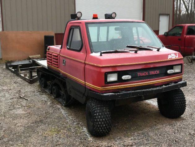 On Track: 1985 ASV 2500 Track Truck