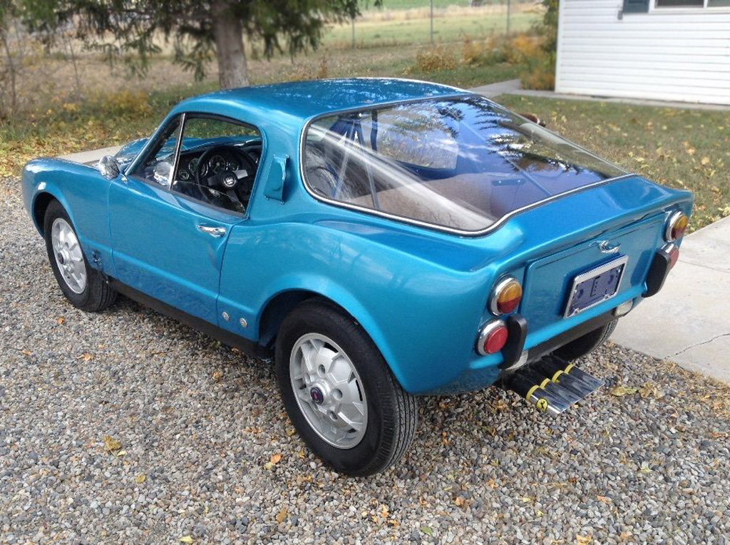 Swedish Meatball: 1968 Saab Sonett II