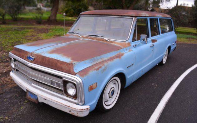 Rad Mod Rat Rod: 1969 Chevrolet Suburban C-10