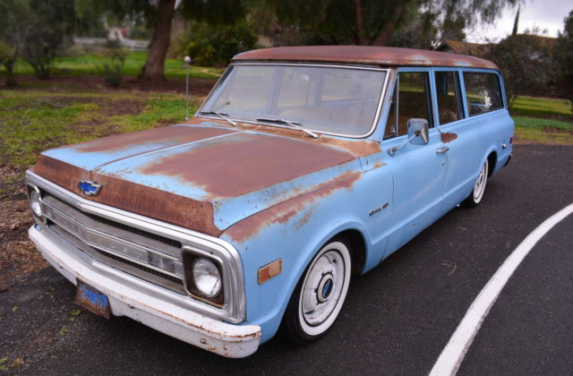 Rad Mod Rat Rod 1969 Chevrolet Suburban C 10