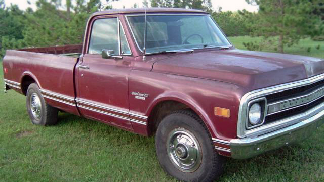 Muscle Pickup 1969 Chevrolet C20