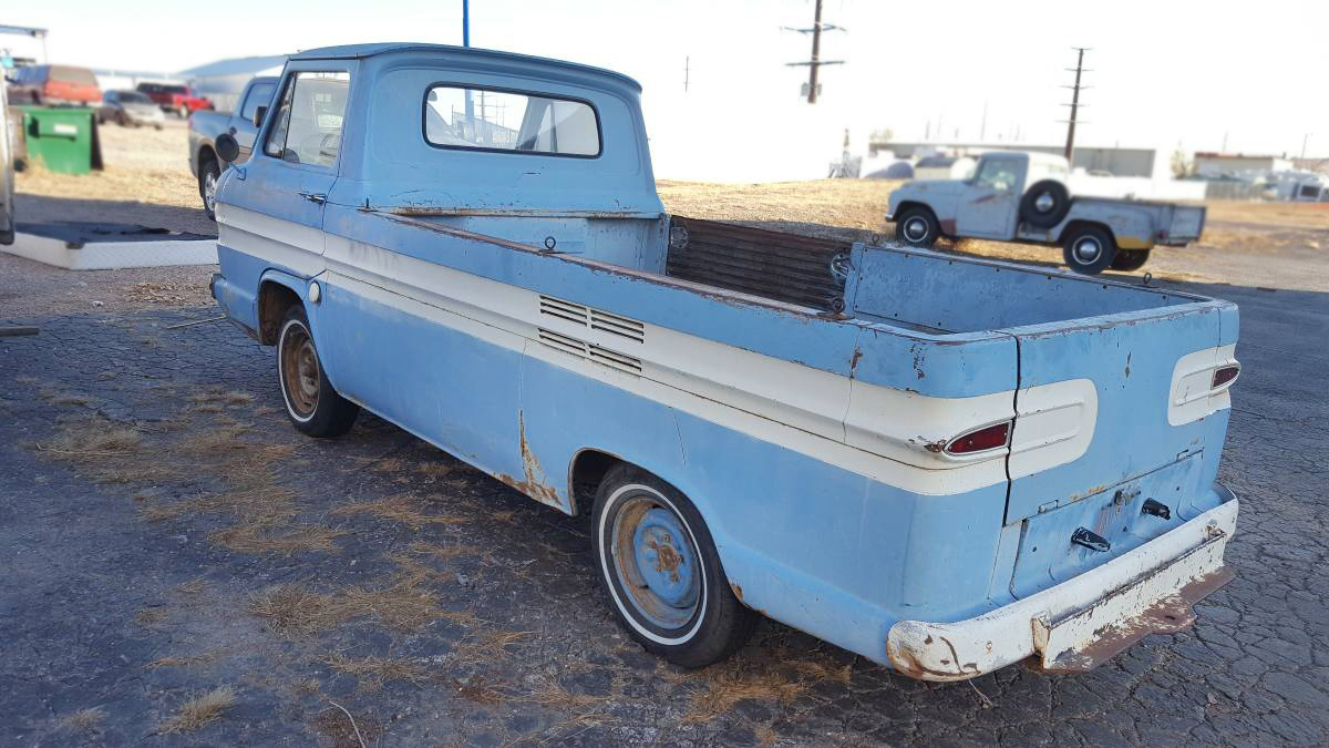 $3,200! 1962 Chevrolet Corvair Rampside Pickup