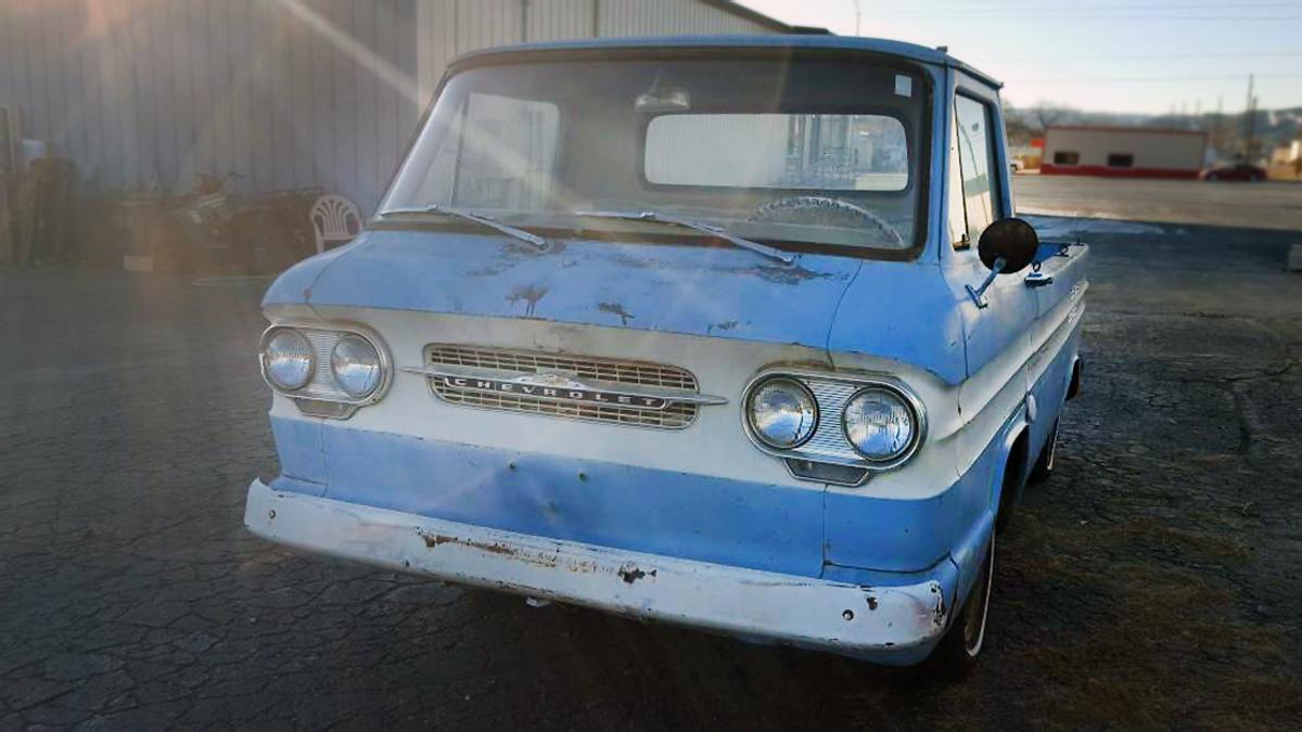 $3,200! 1962 Chevrolet Corvair Rampside Pickup