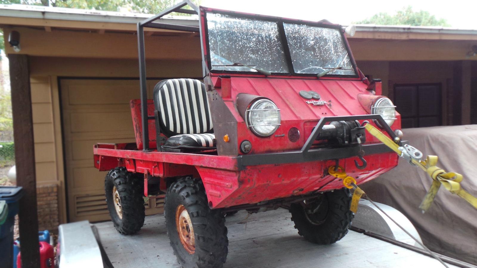 Tough Texan 1972 Steyr Puch Haflinger 700ap