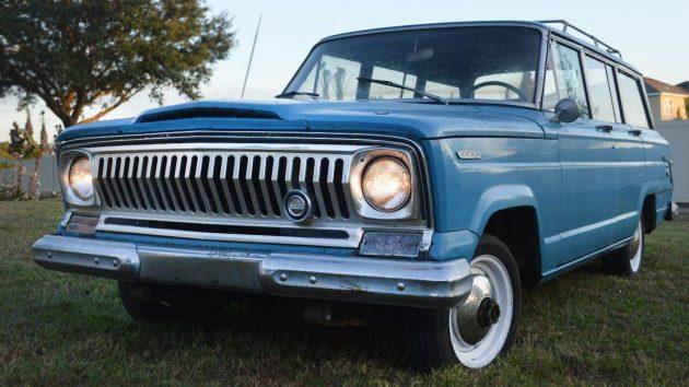 $4,300 Jeep: 1968 Kaiser-Jeep Wagoneer