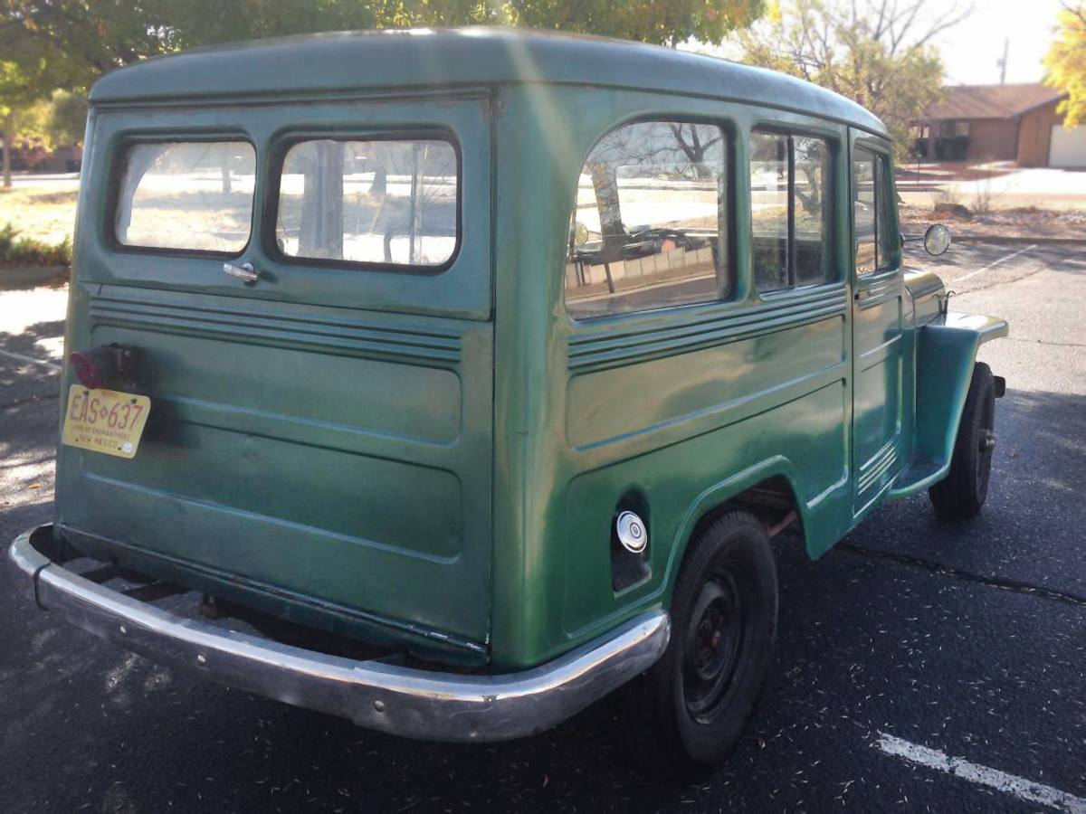 4500 1951 Willys Jeep Wagon 1950 Pick Up This Seems Like A Good Deal Very So Far Doesnt It The Body Looks Pretty Solid But You Can See Some Waviness On Bottom And Im