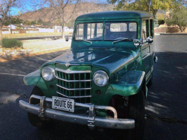 $4,500: 1951 Willys Jeep Wagon