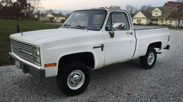 Short-Bed Diesel: 1983 Chevrolet K-10