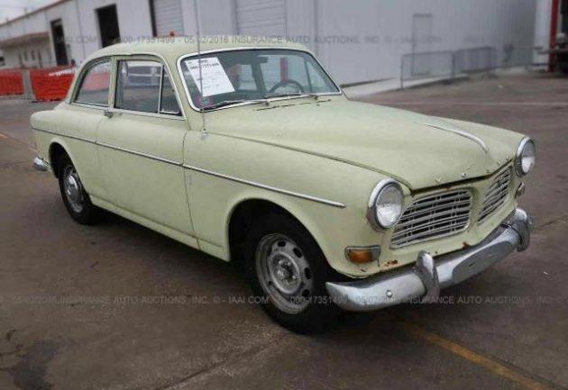 $2,500 Amazon: 1967 Volvo 122S