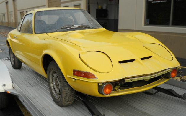 Stored 20 Years: 1970 Opel GT