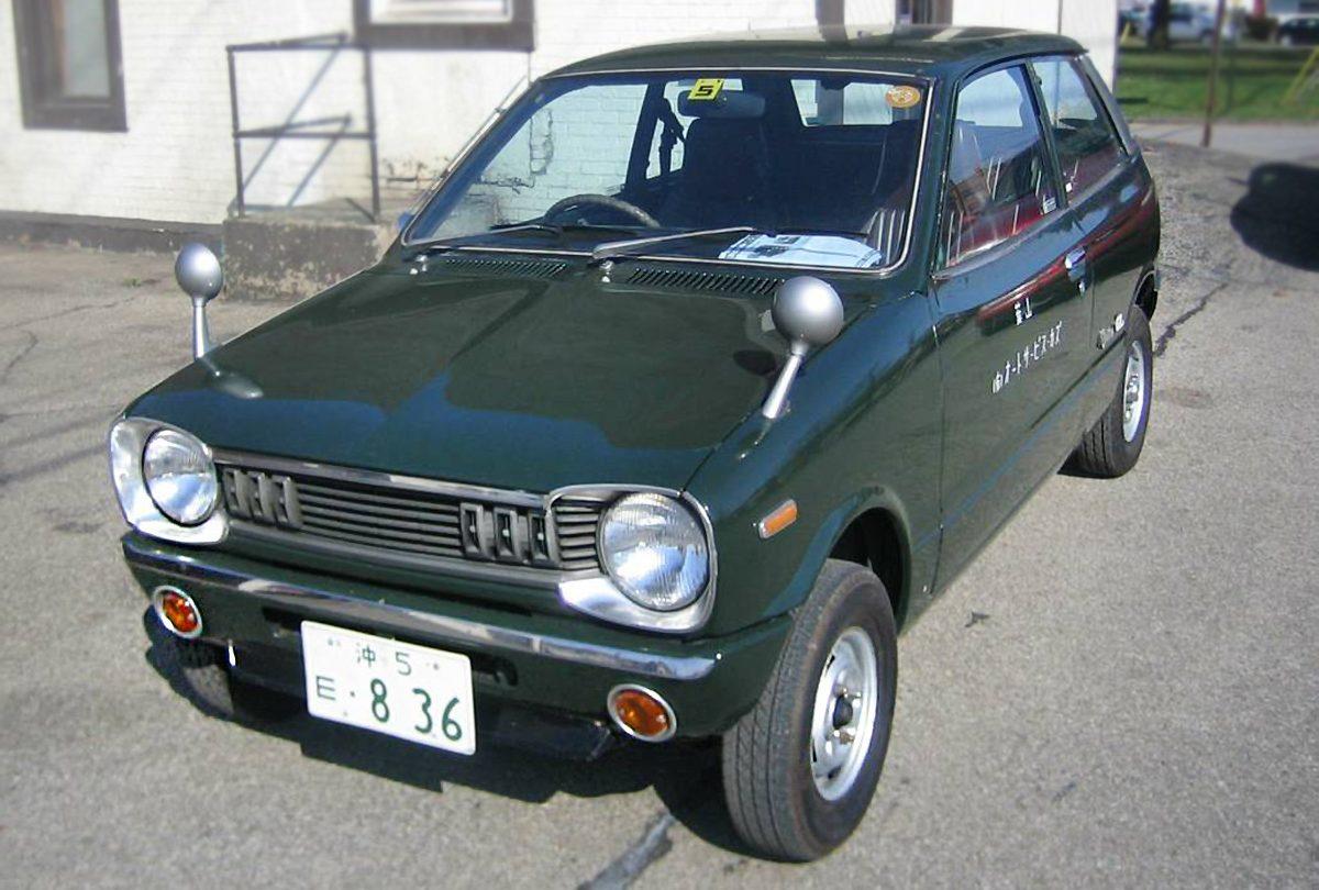 Kei Car Classic 1975 Mazda Chantez Gl