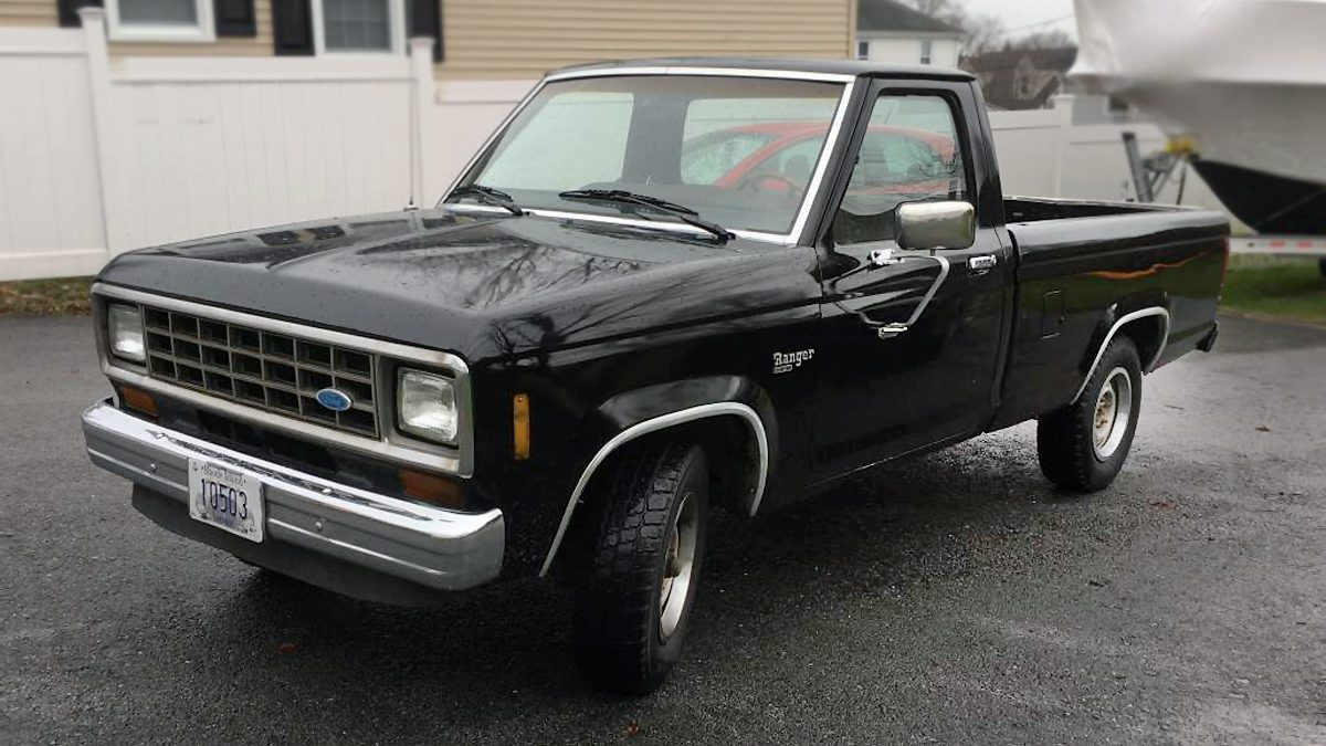 black gold 1984 ford ranger diesel. Black Bedroom Furniture Sets. Home Design Ideas