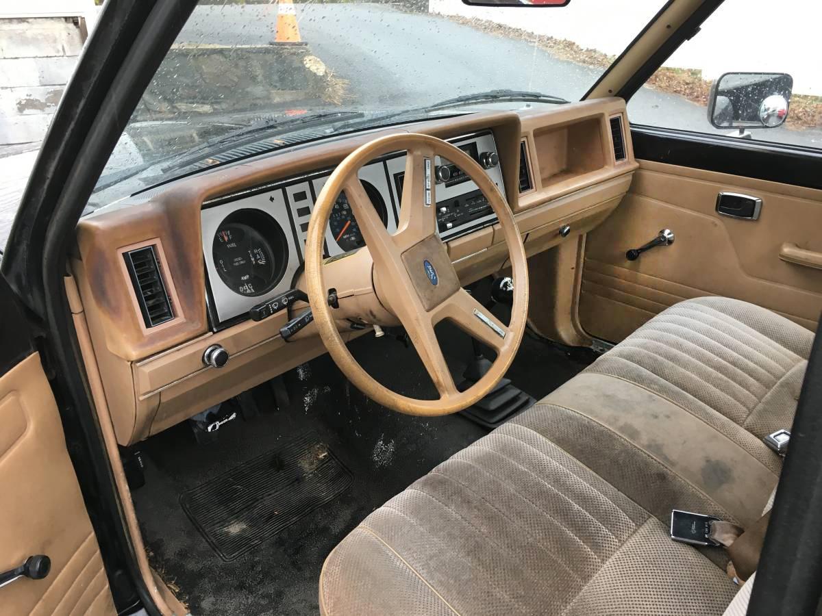 Ford Ranger Diesel For Sale Craigslist Black Gold 1984 Ford Ranger