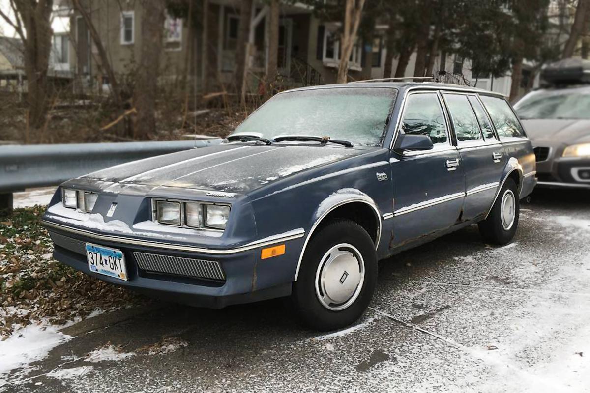 Barn Finds Oldsmobile Firenza Wagon on 1982 Buick 4 Door