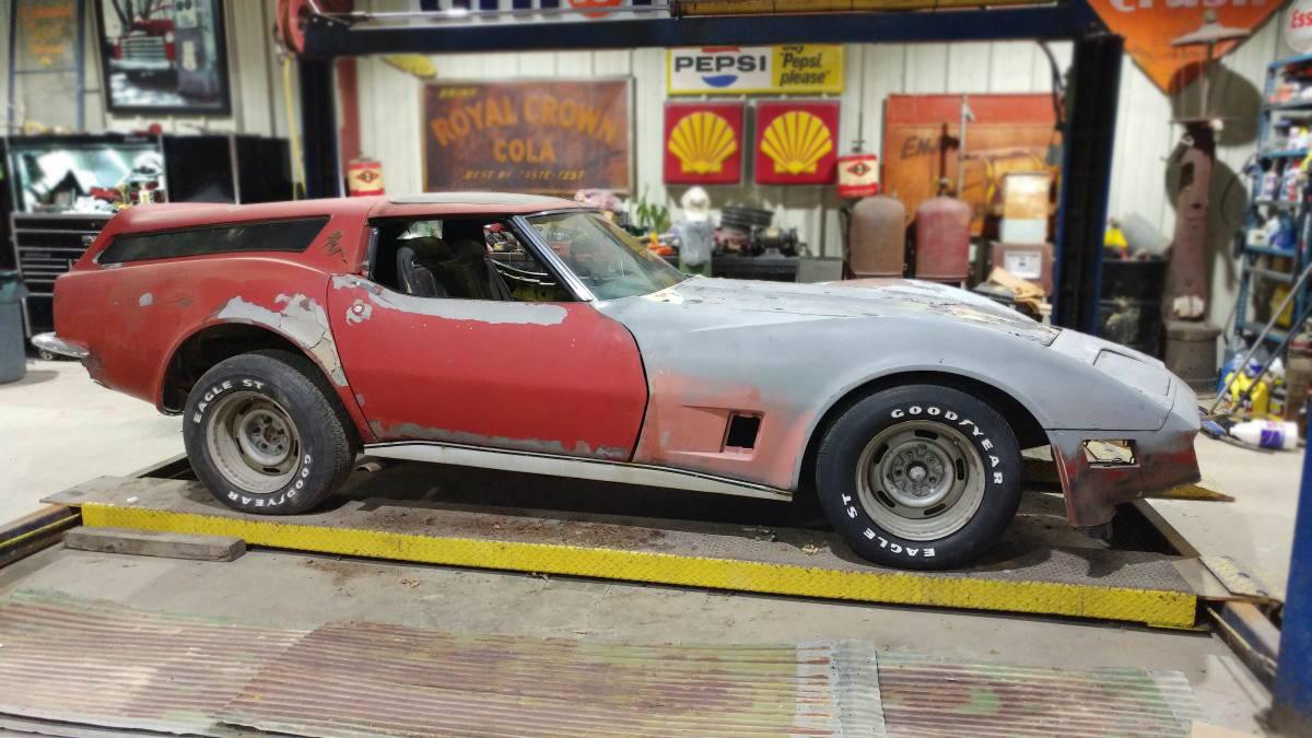 Haulin\': 1970 Chevrolet Corvette SportWagon