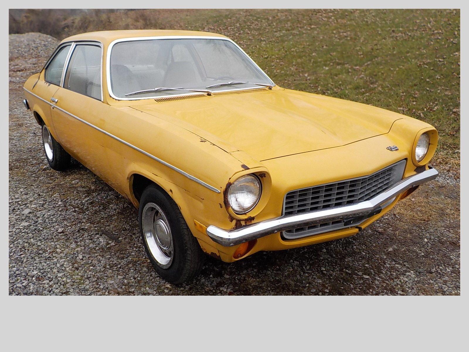 21,578 Miles: 1971 Chevrolet Vega