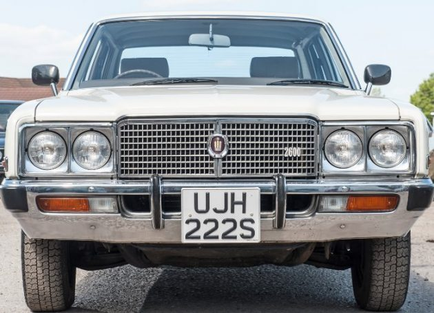 Crowned: 1978 Toyota Crown 2600 Super Saloon