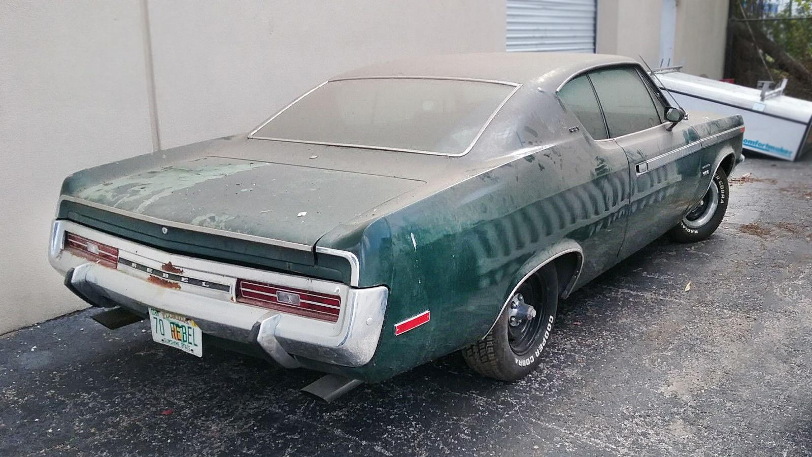How To Buff A Car >> Forgotten Rebel: 1970 AMC Rebel SST