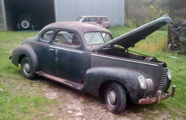 Nifty Nash: 1939 Nash Ambassador Six Coupe