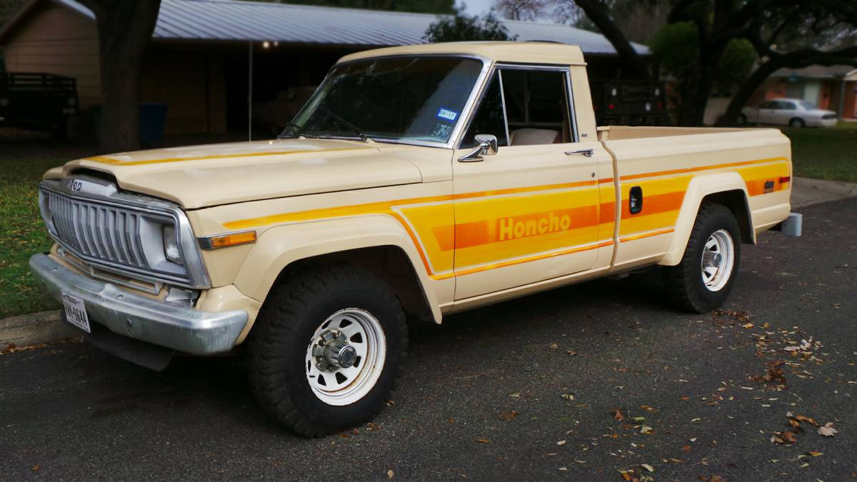 pickups jeeppickups for amc sale honcho jeep