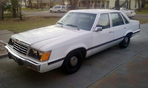 Police Package 1985 Ford Ltd Ssp
