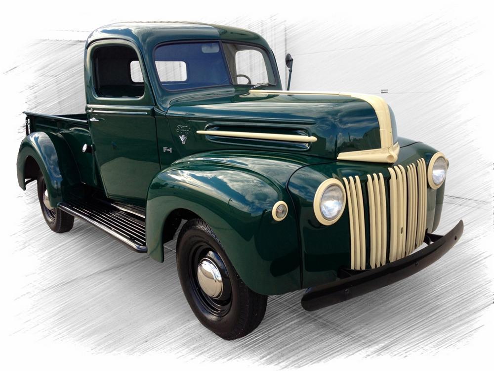 Dry Stored Beauty: 1947 Studebaker Pickup