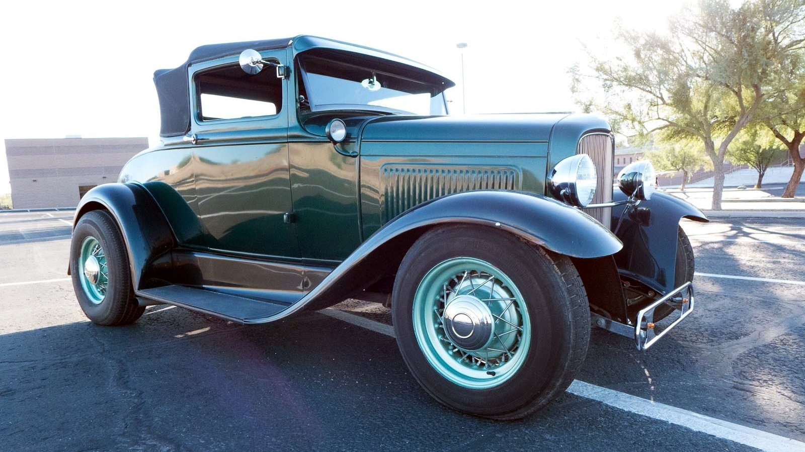 Old School Speed: 1930 Ford Hot Rod