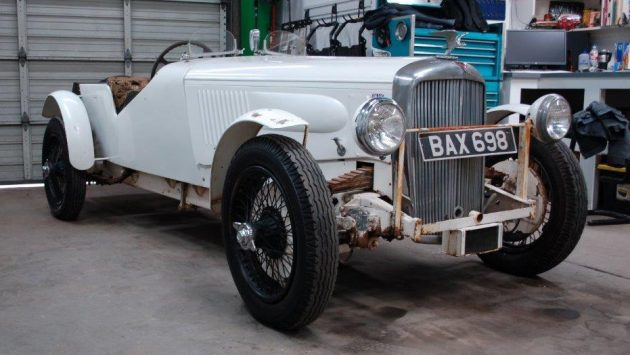 Supercharged 1937 Alvis Speed 25 Special!