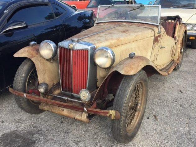 Sporty Patina: 1948 MG TC