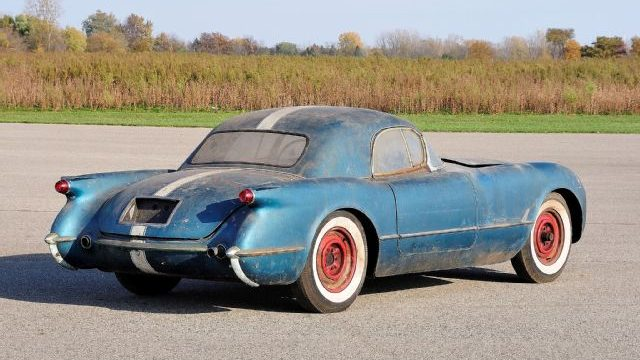 Corvette For Sale >> Not For Sale: 1955 Corvette Barn Find Story