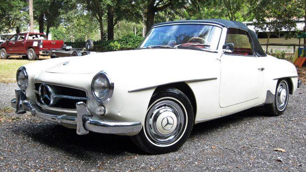 Clean Garage Find: 1960 Mercedes 190SL