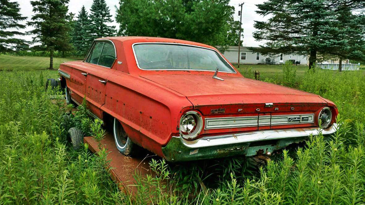 We Love Fords Past Present And Future 1964 Ford Galaxie Ltd Convertible