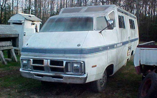 Ram'd R/V: 1972 Dodge Motorhome