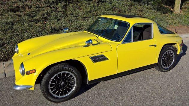 Alfa Powered 1972 TVR Vixen 2500