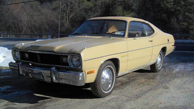 Slant Six Equipped: 1975 Plymouth Gold Duster