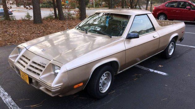 Oddball Berserker: 1983 Dodge Rampage