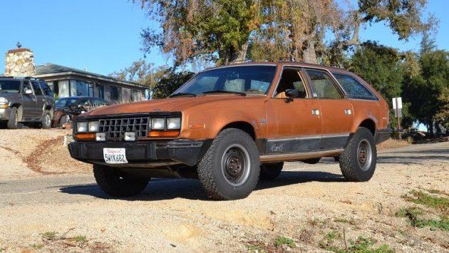 So Ugly It's Cool: 1986 AMC Eagle Wagon