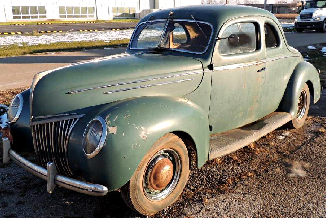 Ford Deluxe Coupe Project Car For Sale