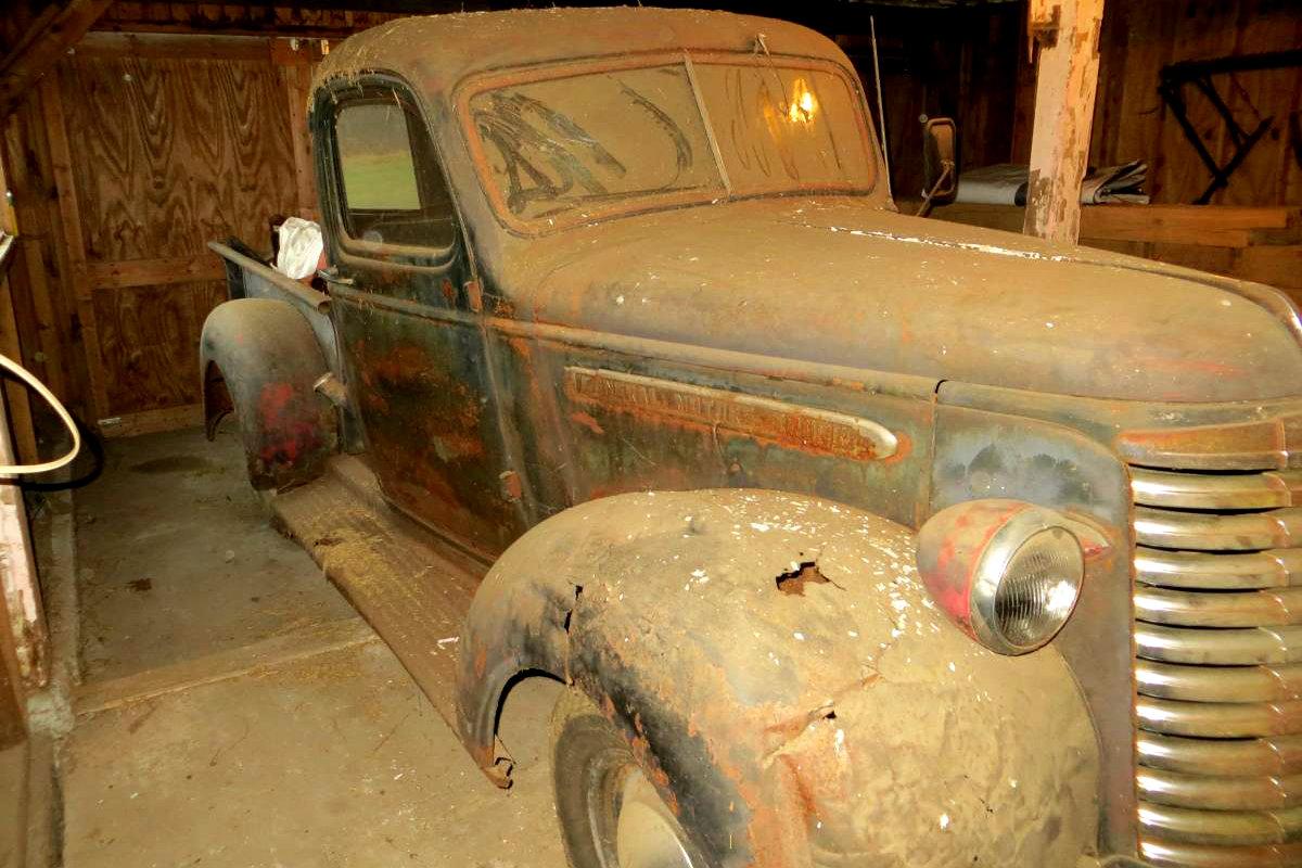 Barn Found Pickup: 1940 GMC
