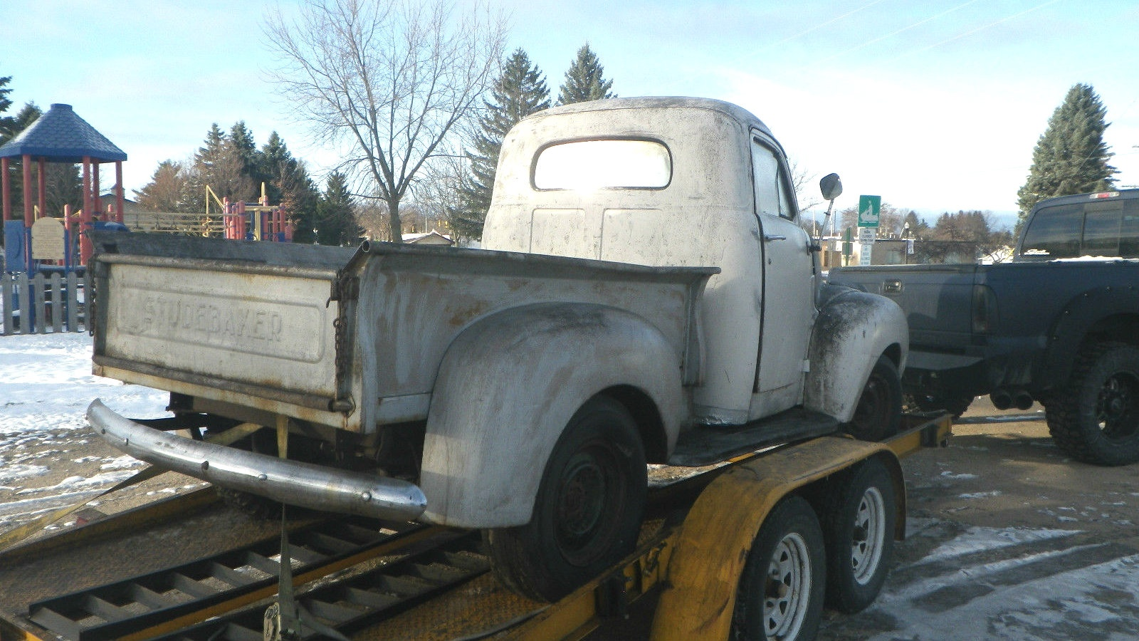 Dry Stored Beauty 1947 Studebaker Pickup