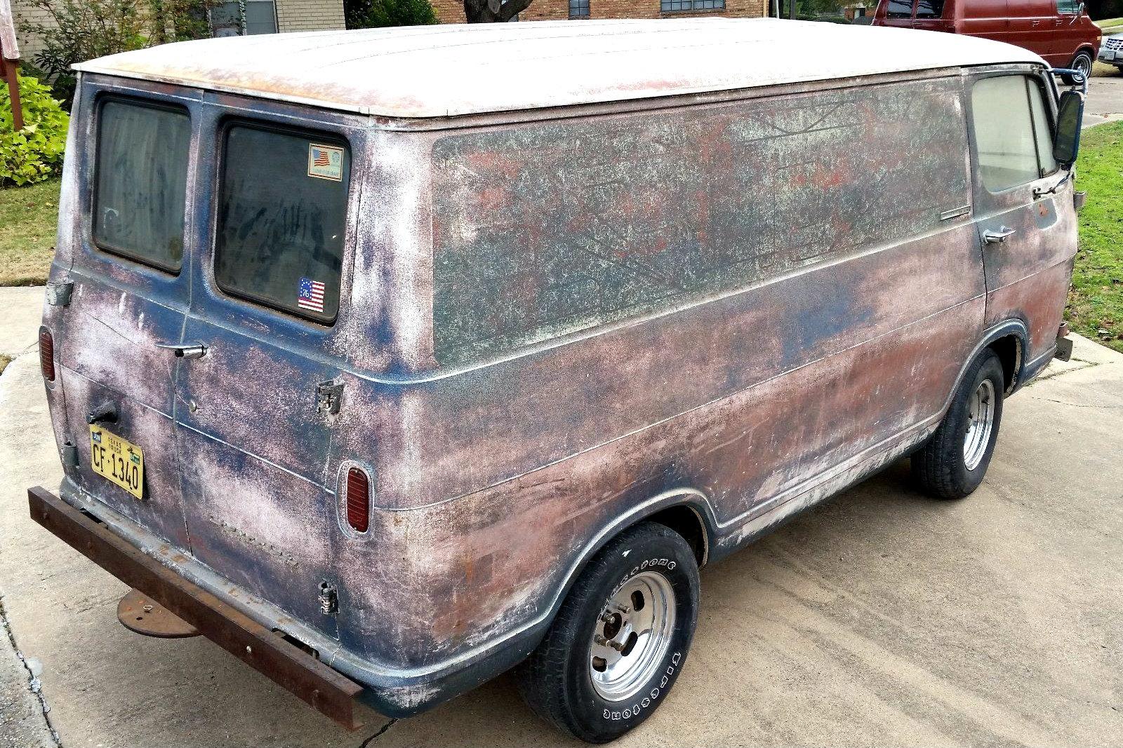 Psychedelic Patina: 1964 Chevrolet G10 Van
